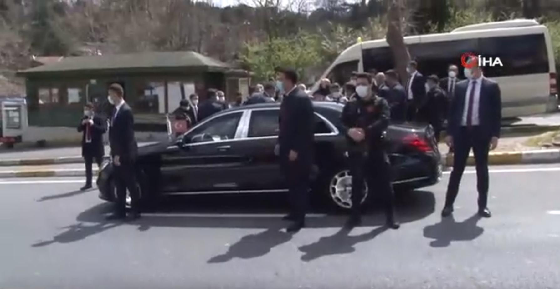 Cumhurbaşkanı Erdoğan'dan İstanbul'da sürpriz ziyaret
