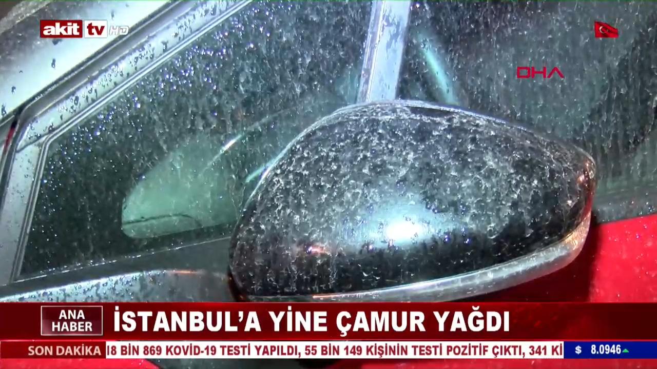 İstanbul'a Yine Çamur Yağdı
