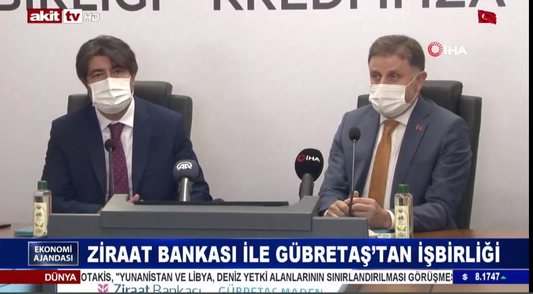 Ziraat Bankası ile Gübretaş'tan işbirliği