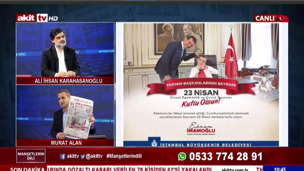 Ya CHP'nin ya Milli Gazete'nin çizgisi değişti