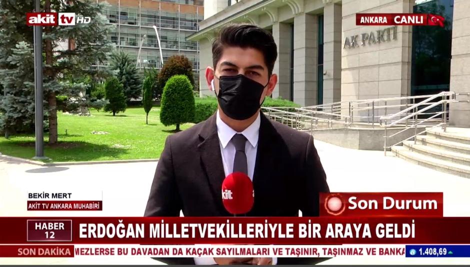 Erdoğan milletvekilleriyle bir araya geldi