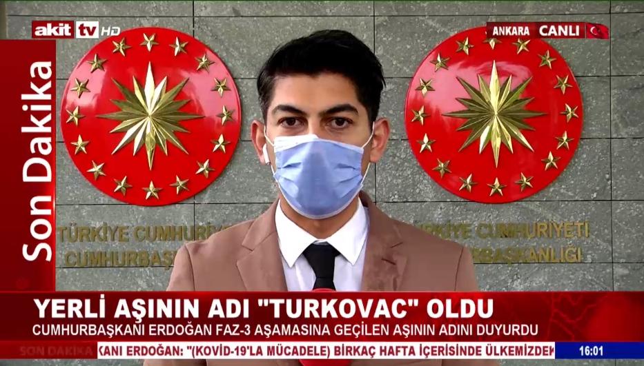 Yerli aşının adı Turkovac oldu