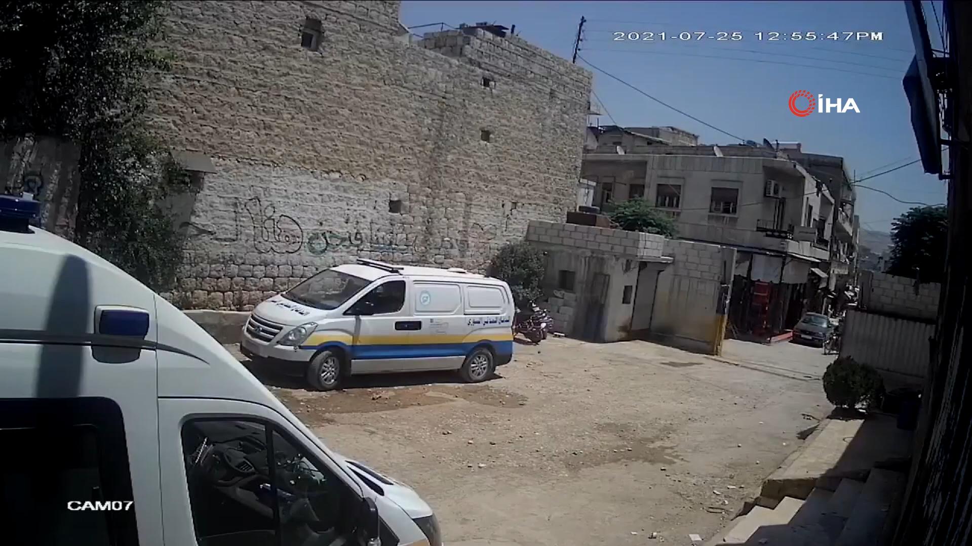 PKK'nın füze saldırısının yeni görüntüleri ortaya çıktı! Alçaklar işte böyle vurmuş