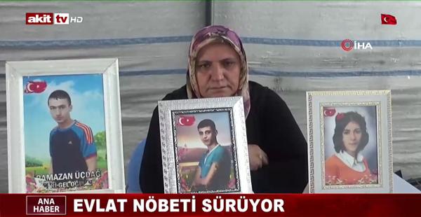 Diyarbakır annelerinin evlat nöbeti bayramda da sürüyor