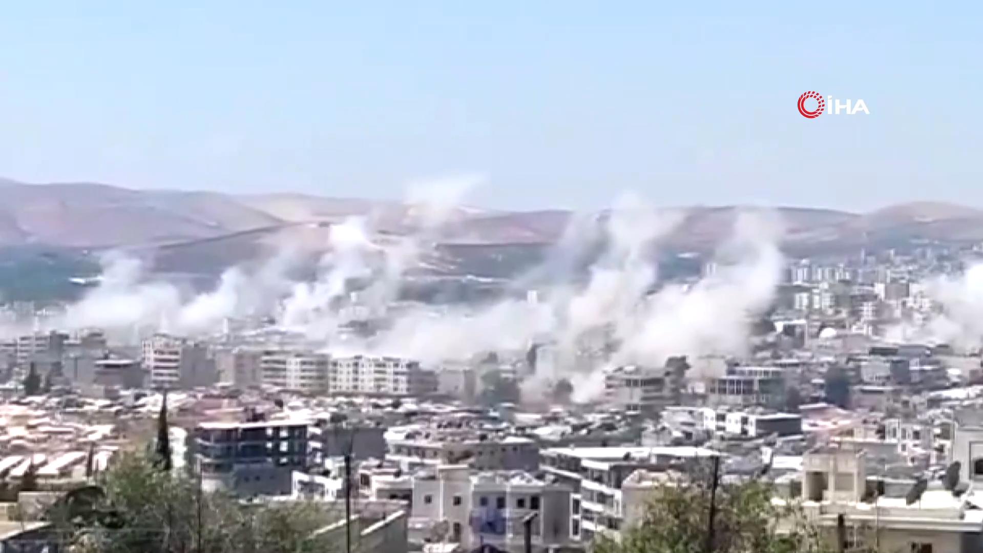 Terör örgütü PKK'dan füzeli alçak saldırı! Yaralılar var