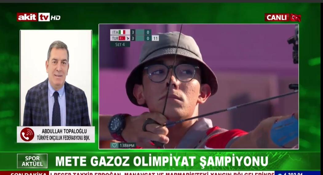 Türkiye Okçuluk Federasyonu Bşk. Abdullah Topaloğlu başarının perde arkasını anlattı