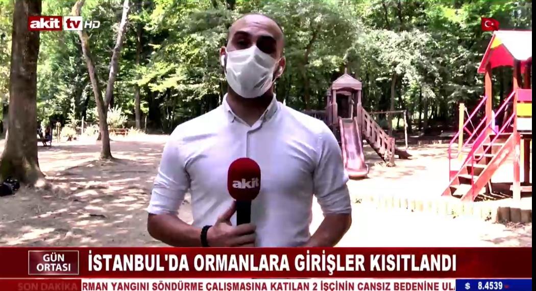 İstanbul'da ormanlara girişler kısıtlandı