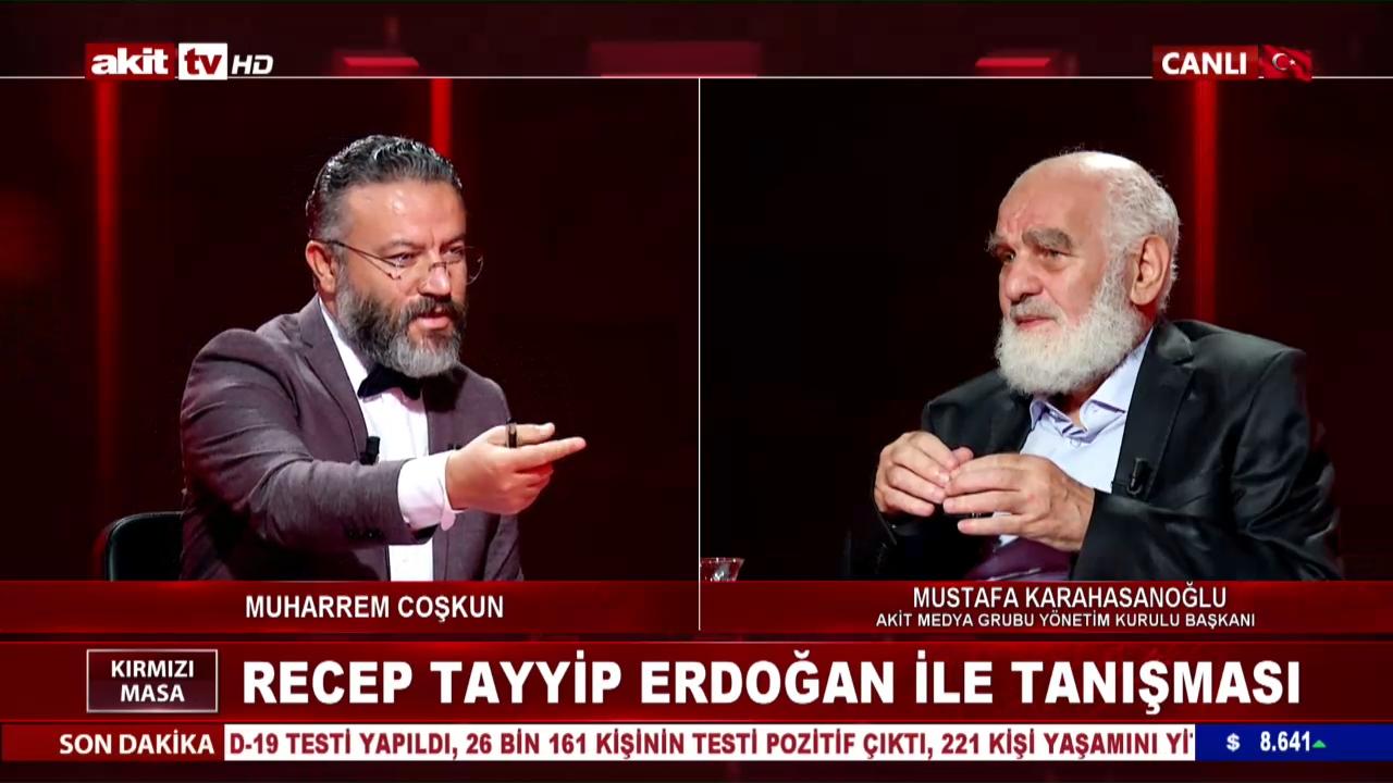 Karahasanoğlu'nun Recep Tayyip Erdoğan ile tanışması