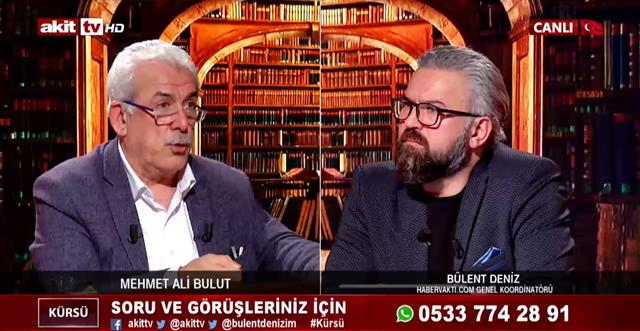 Mehmet Ali Bulut: Ey Müslümanlar bunları neden görmüyorsunuz?