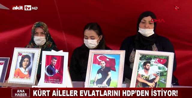 Kürt aileler evlatlarını HDP'den istiyor!