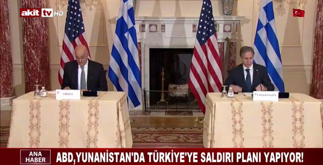 ABD, Yunanistan'da Türkiye'ye saldırı planı yapıyor!