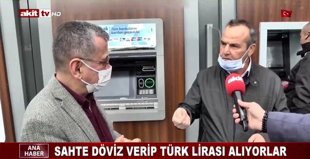 Sahte döviz verip Türk Lirası alıyorlar